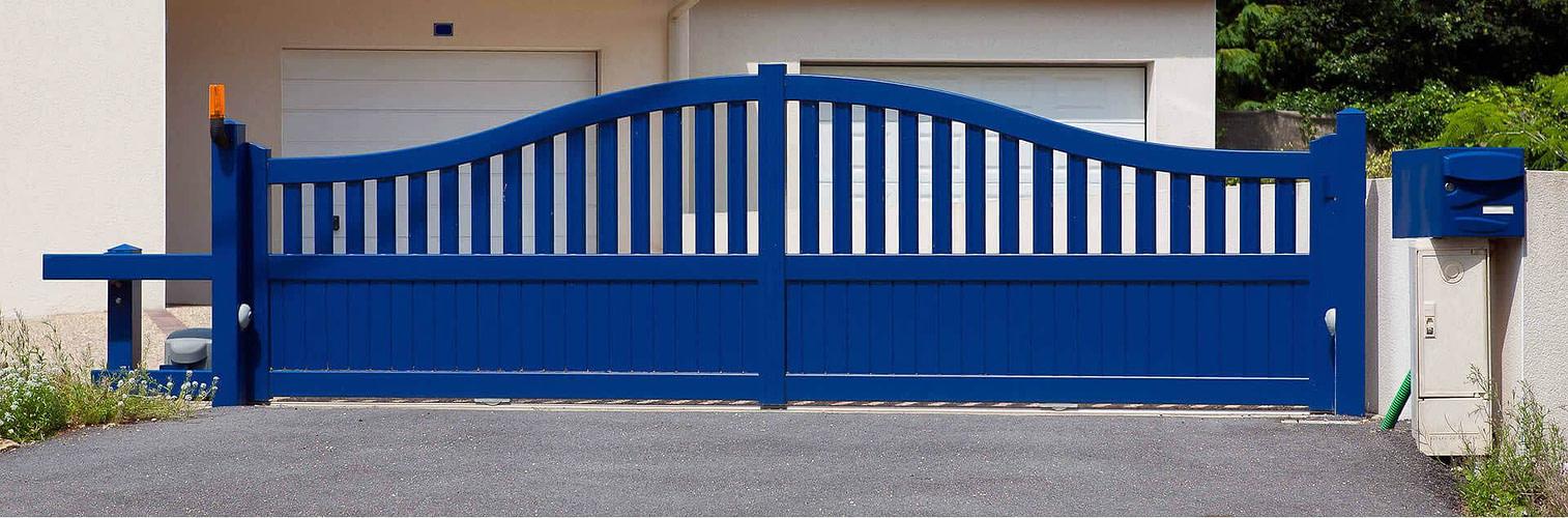 Instalación de puertas automáticas Madrid - Lumiplas