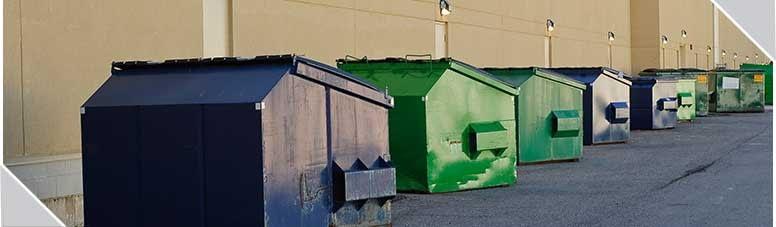 Contendores con residuos industriales